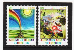 ORY321 VEREINTE NATIONEN UNO WIEN 2012 Michl 746/47 ** Postfrisch SIEHE ABBILDUNG - Ungebraucht