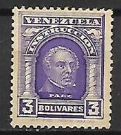 VENEZUELA    -   Fiscal-Postal    -    1911.   Y&T N° 114 * - Venezuela