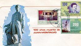 ECUADOR FDC 1989 JUAN MONTALVO.BARGAIN.!! - Equateur