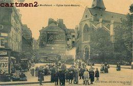 PARIS RUE MOUFFETARD EGLISE SAINT-MEDARD 75 - Churches