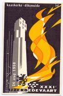 PK - Vlaanderen - XXXI IJzerbedevaart 1958 - Kaaskerke Diksmuide - AVV - VVK  Illustr. Luk Verstraete - Evénements