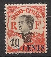 Indochine - 1919 - N°Yv. 76 - Annamite 4c Sur 10c - Neuf Luxe ** / MNH / Postfrisch - Indochine (1889-1945)