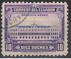 (EQ 80) ECUADOR // YVERT 219 POSTE AERIENNE // 1950 - Equateur