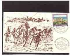 TEM5344   - CASTIGLIONE DELLA PESCAIA  7.5.1988   /   MAX.CARD FDC - Cartes-Maximum (CM)