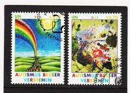 ORY322 VEREINTE NATIONEN UNO WIEN 2012 Michl 746/47 Used / Gestempelt SIEHE ABBILDUNG - Gebraucht