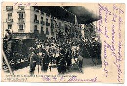 *** CPA - Espagne - Entrata En El Congresso De Los Atributos De La Monarquia - Zonder Classificatie