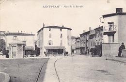 CPA - SAINT-PERAY : Place De La Bascule - Saint Péray