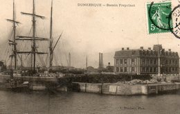Dunkerque -    Le  Bassin  Freycinet. - Dunkerque