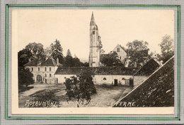 CPA - ROYAUMONT - ASNIERES-sur-OISE (95) - Aspect De La Ferme Au Début Du Siècle - Asnières-sur-Oise