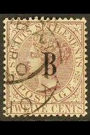 1882 12c Brown Purple, Wmk CA, SG 22, Very Fine Used. For More Images, Please Visit Http://www.sandafayre.com/itemdetail - Siam
