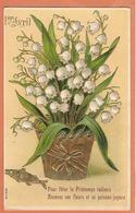 CPA ( Bouquet De Muguet En Relief ) - Fiori