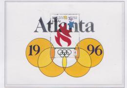 Maldives 1996 Olympic Games Atlanta  Souvenir Sheet   MNH/** (H53) - Estate 1996: Atlanta