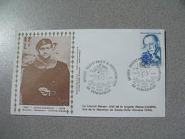 Enveloppe  1979 Musée De La Résistance & Déportation André Malraux Cachet Venissieux - Marcofilie (Brieven)