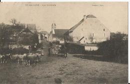 CPA - Vy Les Lure - Vue Générale - Moutons - Attelage - France