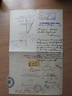Poland Ukraine Registered Lwow Lemberg Wafer 1913 - Lettres & Documents