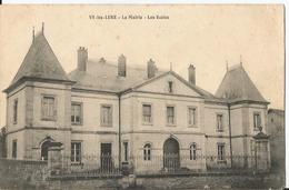 CPA - Vy Les Lure -  Mairie - Les Ecoles - France