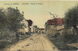 VAIVRE Entrée Du Village (voir Dos) - Autres Communes