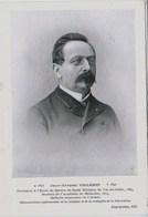 Professeur Jean-Antoine Villemin(1827-1892)Ecole Sce Santé Militaire Val-de-Grâce.(Virulence Contagion Tuberculose) TBE - Salute