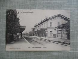 CPA 54 PONT A MOUSSON LA GARE - Pont A Mousson