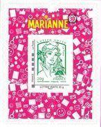 France Autoadhésif N°  864.A - Marianne De Ciappa Et Kawena - Lettre Verte 3D Ou 936 (Maury) - France