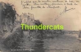 CPA PHOTO SALON DE PARIS 1901 E PETIT JEAN L'ALLIER A PONT DU CHATEAU PUY DE DOME - Musées