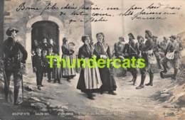 CPA PHOTO SALON DE PARIS 1901 E CASTRES SORTIE DE MESSE EN TARENTAISE - Musées