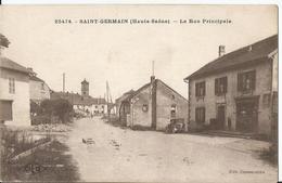 CPA - 70 - Haute Saône - Saint Germain - Rue Principale - France
