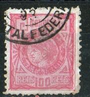 Brésil 1891 Republique 100 R Rose  N° 78 - Brésil