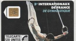 TELECARTE 120...3e INTERNATIONAUX DE FRANCE DE GYMNASTIQUE - France