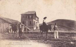 LE SEMNOZ - Le Châlet-Hôtel Et Les Mulets De Ravitaillement - France