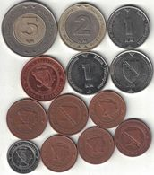 Bosnia Collection Of 13 Coins 1998-2013 All Listed & Different - Bosnie-Herzegovine