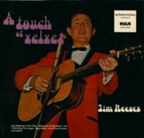* LP *  JIM REEVES - A TOUCH OF VELVET - Country & Folk