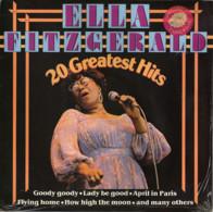 * LP *  ELLA FITZGERALD - 20 GREATEST HITS - Jazz
