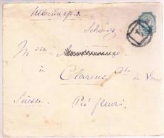 Russia, 1891, For Vaud - 1857-1916 Imperium