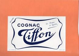 BUVARD. COGNAC (CHARENTE). COGNAC TIFFON  Achat Immédiat - Liquor & Beer