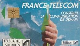 TELECARTE 50..  FRANCE TELECOM CONSTRUITLA COMMUNICATION DE DEMAIN.... - 50 Unités