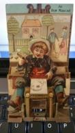 Chromo Publicitaire à Système Au Bon Marché - Maison Boucicaut - Exposition 1900 - Hors Concours - Illustration Enfant - Au Bon Marché