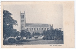 KINGSTON CHURCH, PORTSMOUTH, HAMPSHIRE. UNPOSTED - Portsmouth