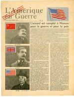 """PROPAGANDE VICHY 1943 IMMITANT TRACTS USA """" APPORTE AU PEUPLE FRANCAIS PAR L'ARMEE AMERICAINE AVEC LES BOMBES PHOSPHORE. - Marcophilie (Lettres)"""