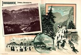 INNSBRUCK - Hôtel Tyrol - Carte Double - Innsbruck