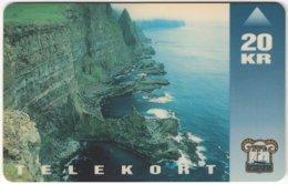 FAROER A-031 Magnetic TFL - Landscape, Coast - Used - Faroe Islands