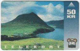 FAROER A-032 Magnetic TFL - Landscape, Coast - Used - Faroe Islands