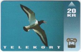 FAROER A-036 Magnetic TFL - Animal, Bird - Used - Faroe Islands