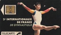 TELECARTE 120 UNITES   3e INTERNATIONAUX DE FRANCE DE GYMNASTIQUE - France
