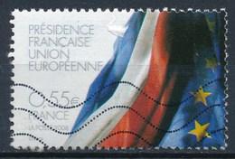 France - Projets Européens - Présidence Française YT 4246 Obl Ondulations - France