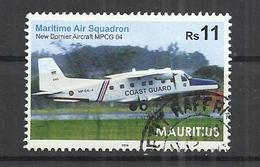 MAURITIUS 2016 - NEW DORNIER AIRCRAFT MPCG 04 - POSTALLY USED OBLITERE GESTEMPELT USADO - Maurice (1968-...)