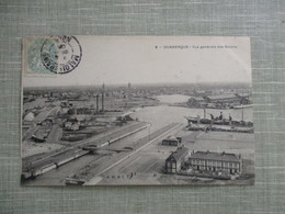 CPA 59 DUNKERQUE VUE GENERALE DES BASSINS - Dunkerque
