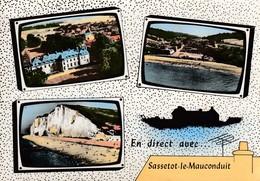 76 - Sassetot-le-Mauconduit - Multi-Vues - 3 Beaux Plans - Autres Communes