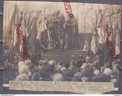 Au Plus Rapide Photo Anciens Combattants 1914 1918 Cimetière Père Lachaise Monument Aux Morts Soldats Tchécoslovaques T - Guerre, Militaire