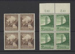 ALLEMAGNE EMPIRE.  YT   N° 608-609  Neuf **  1938 - Allemagne
